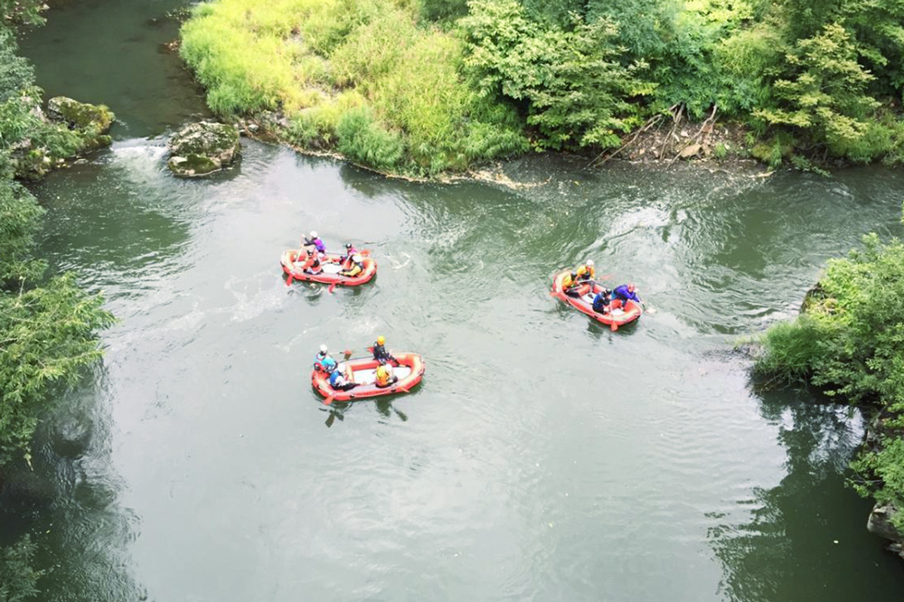Take a lazy ride down the Iwaki River