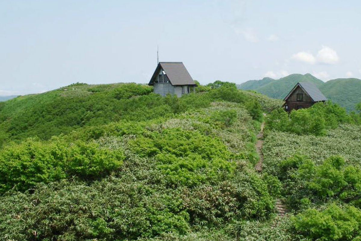 Climbing Mount Shirakami