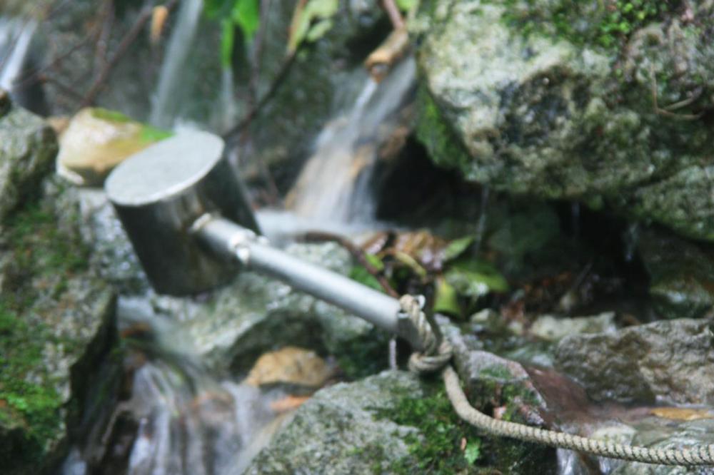 natural water in Shirakami Sanchi