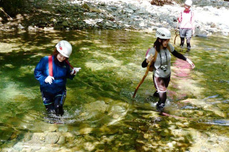 Pleasure Walks and Swimming in Shirakami's Rivers