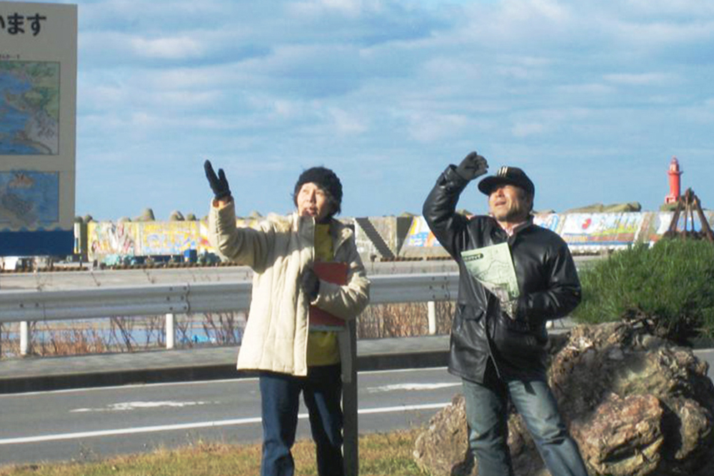Guided Tour of Port Kazemachi (Fukaura)