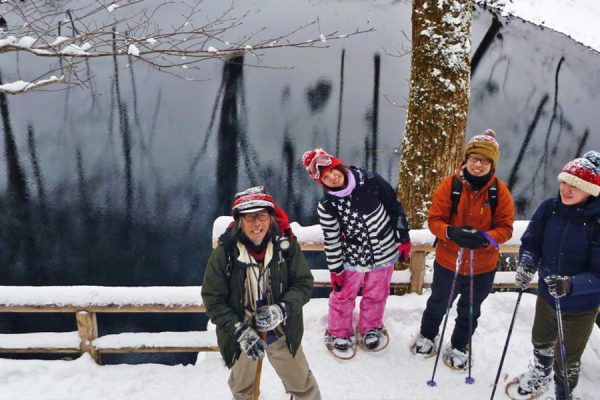 Juniko Snow Shoeing (Fukaura Area)