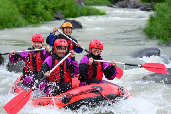Rafting in the Meya Ravine