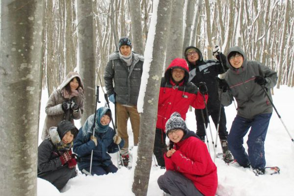 Snow Shoeing the Foothills of Nishi Iwakisan (Ajigasawa Area)